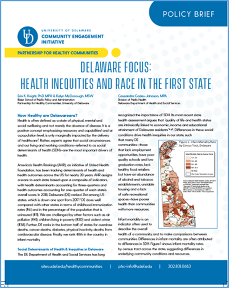 Delaware Focus Brief