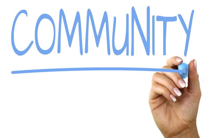 The word community