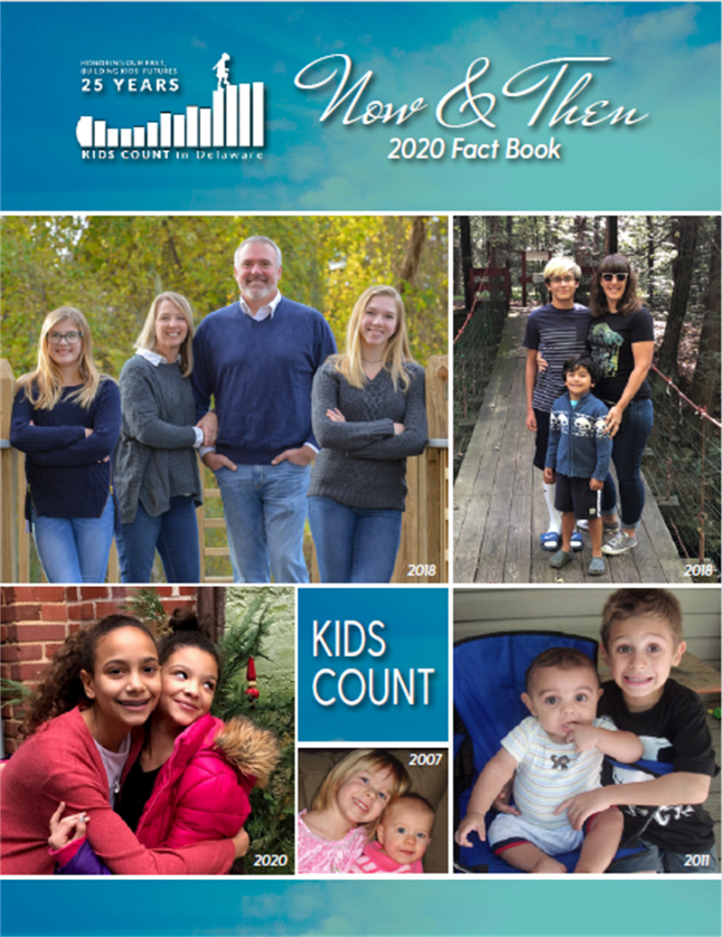 Cover of 2020 Kids Count in Delaware Fact Book