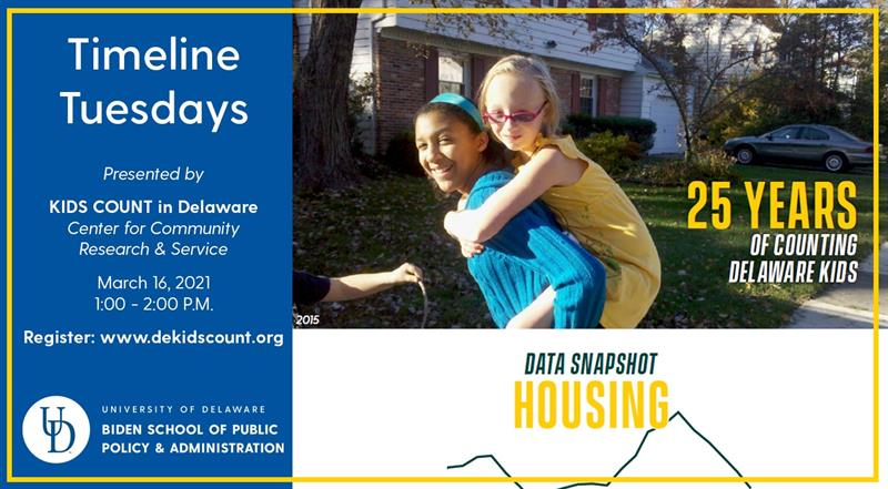 Timeline Tuesdays Data Snapshot: Housing; photo of two girls in front of single family home