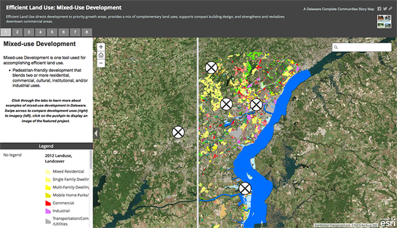 This arcGIS story map utilizes the science of geography and the compilation of relevant data to help researchers navigate mixed-use development in an efficient way.