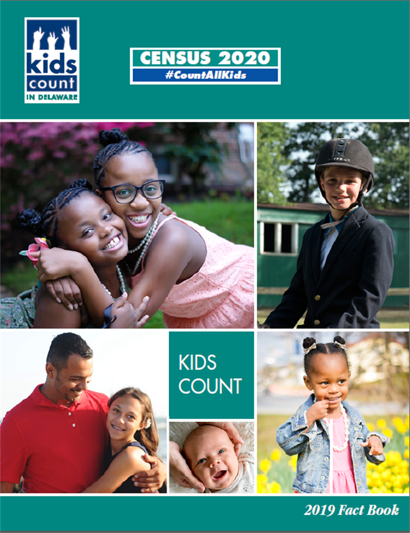 2019 KID COUNT in Delaware Fact Book cover