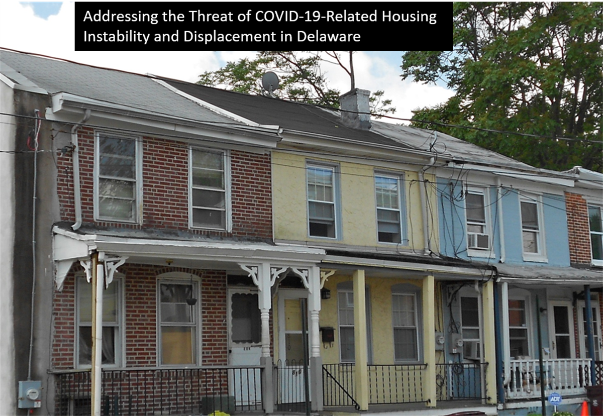 The impact on COVID-19 on housing instability in Delaware